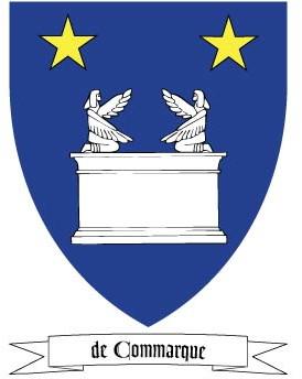 de Commarque Coat of Arms
