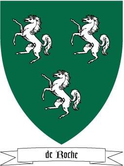 de Roche Coat of Arms