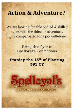 Spelloyals flyer1
