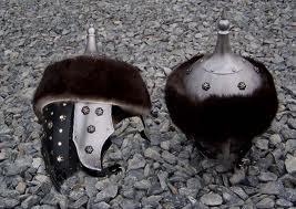 Saracen open helmet