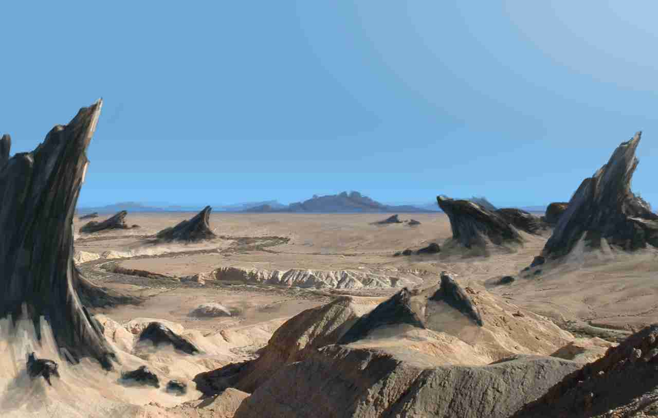 Plains of dust