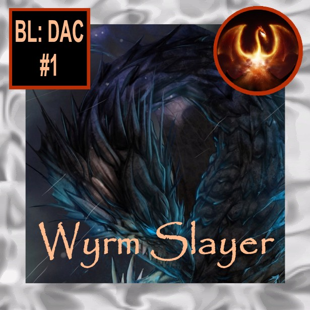 Take part in slaying the wyrm sapphire dragon Quaormath.