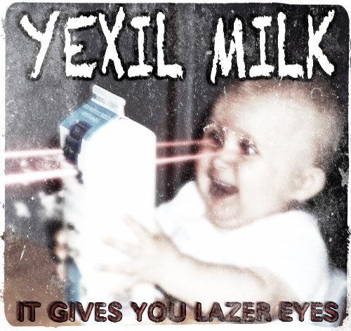 Lazer eyes