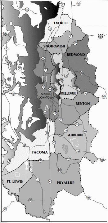 Seattle map