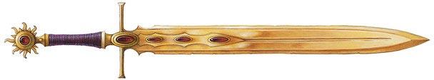 Orichalcum blade
