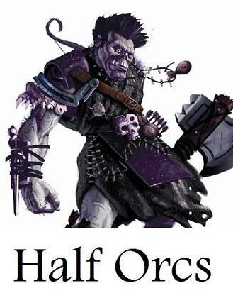 Half orc button
