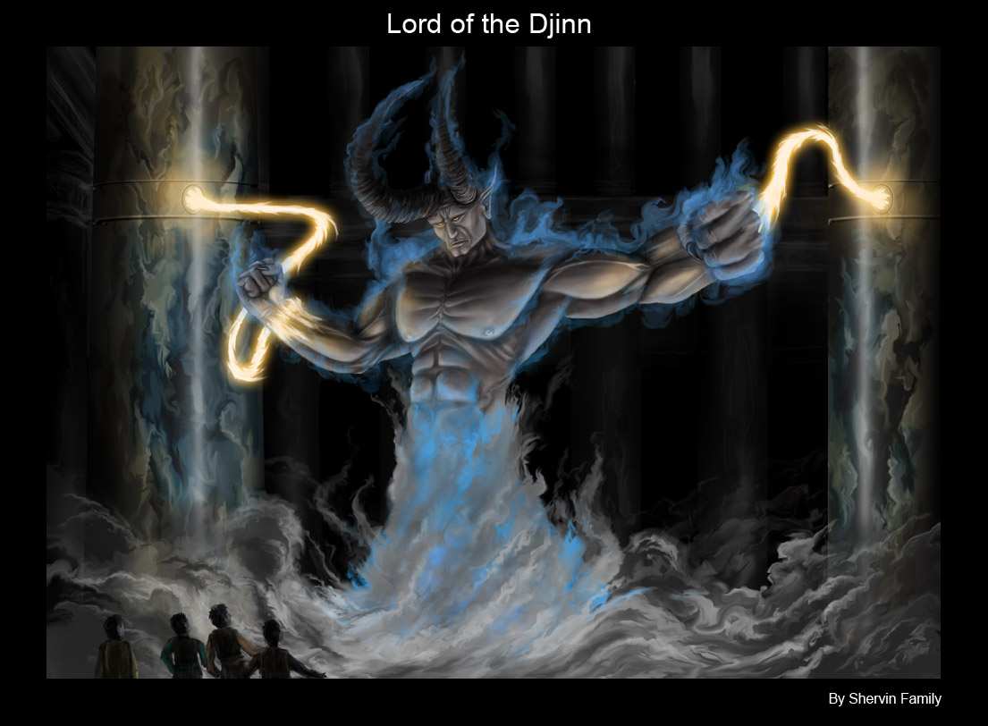 Lord of the djinn by wayfarer95