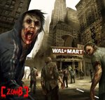 Zombies love wal mart by leck85