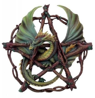 Forrest dragon pentacle 2