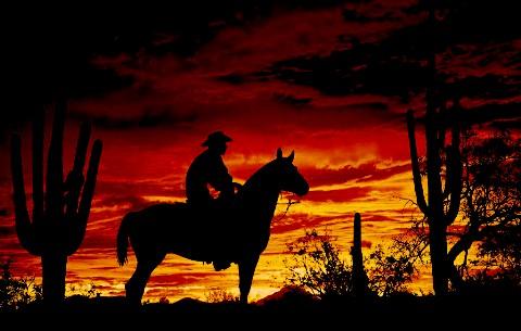Crimson cowboy