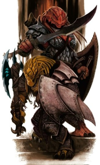 327px dragonborn phb