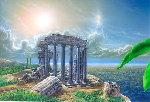 299 greek ruins