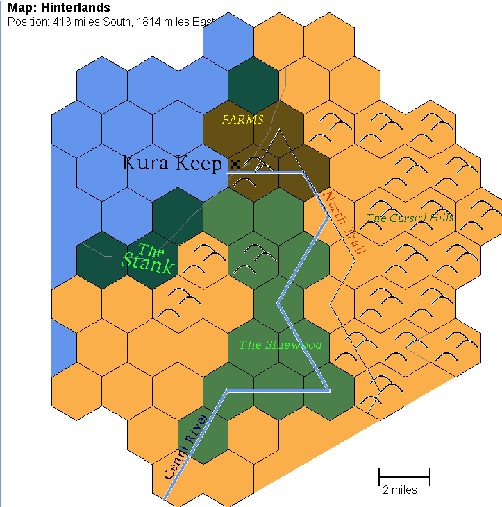 Hinterlands keep