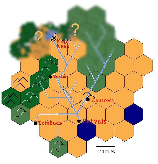 Hinterlands overland blurred