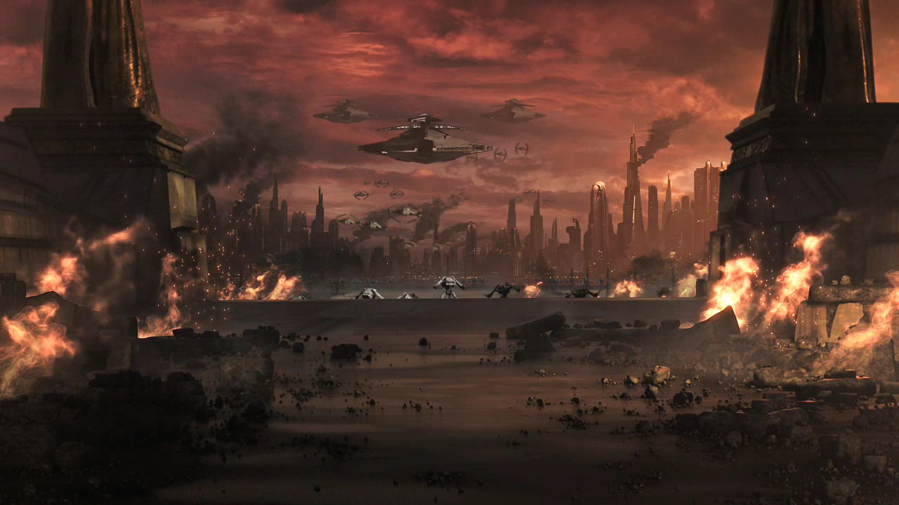 Sacking of coruscant to rtrailer