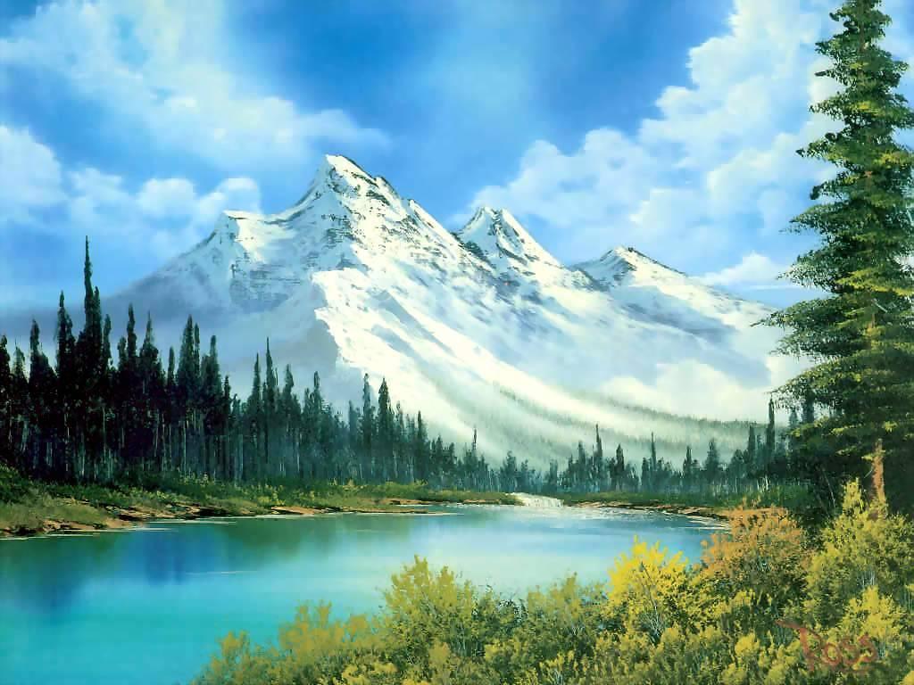 Bob ross landscape painting 281 2