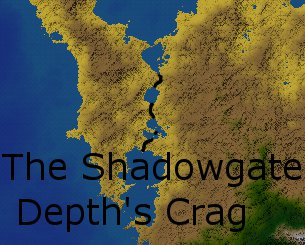 Shadowgate depths crag