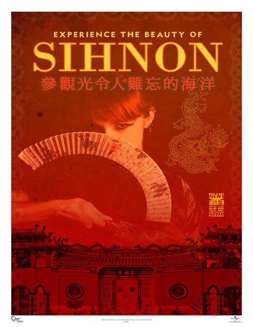Travel poster sihnon