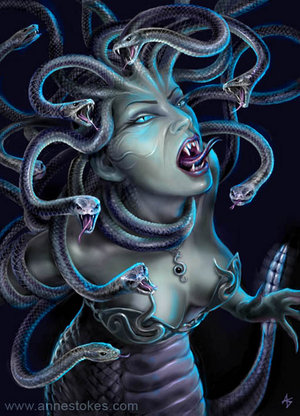 Medusa by ironshod