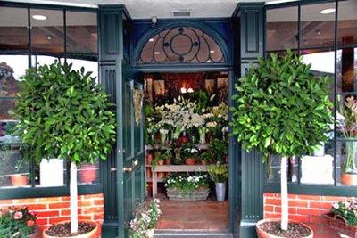 Floral shop front