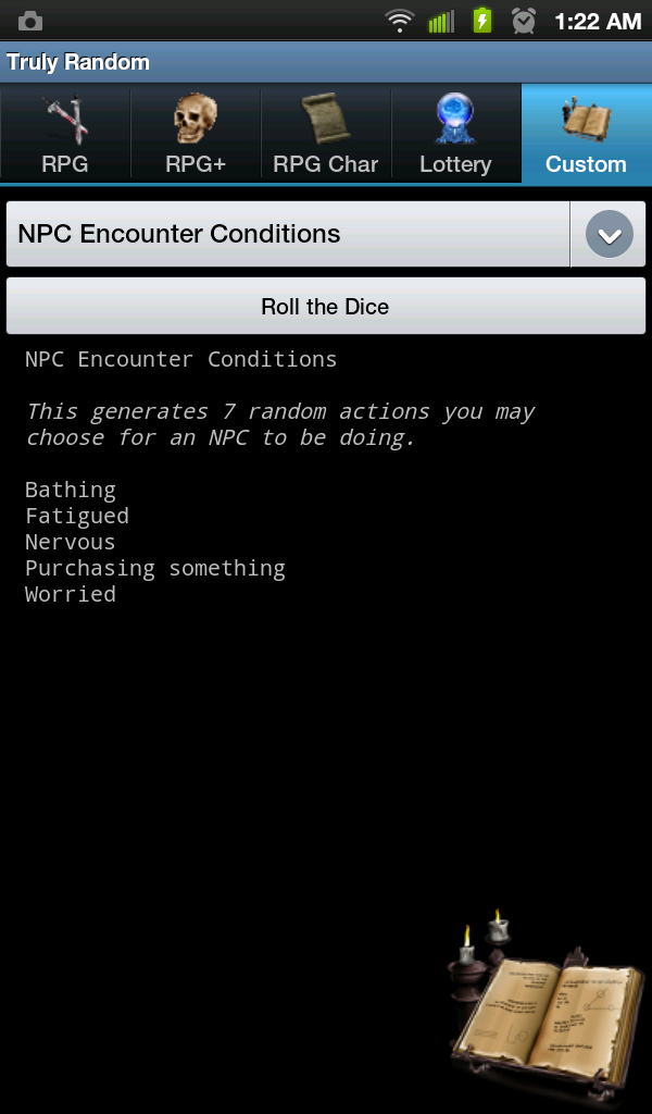 Npc encounter conditions
