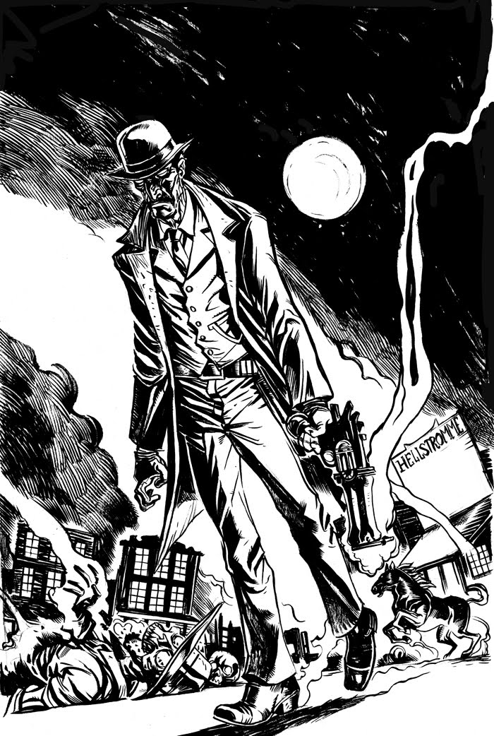Deadlands cover.bw