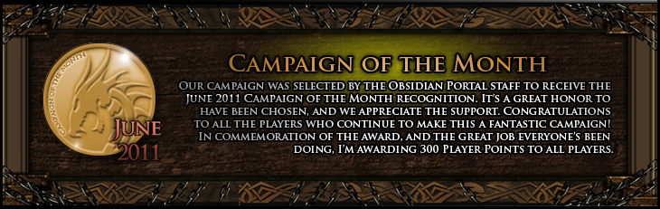 Campaign of the Month Award - June 2011