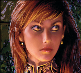 A Half Elf Priestess