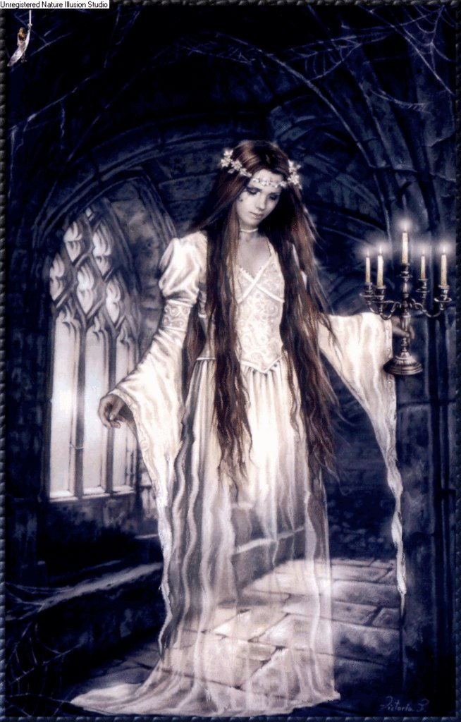 Female ghost lovely image 31000