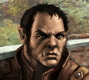 Races half orc male