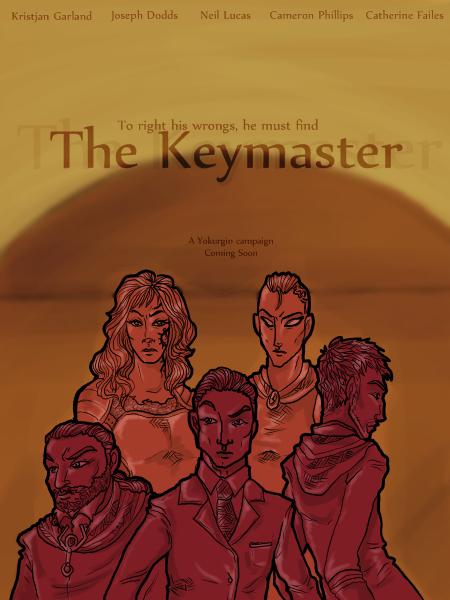 The keymaster poster