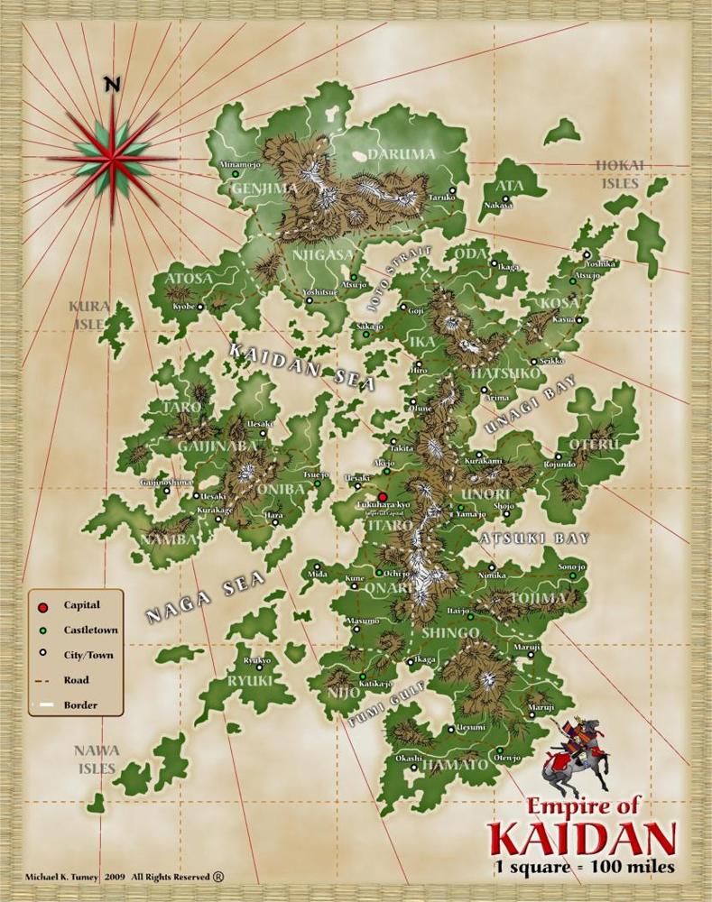 Kaidan map