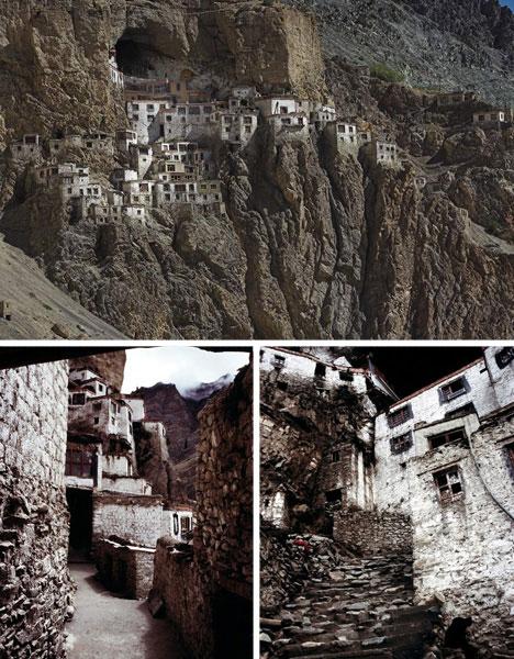 Precarious cliffside monastery phuktal