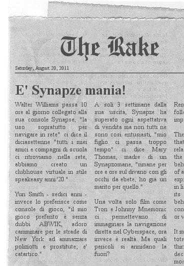Synapze mania