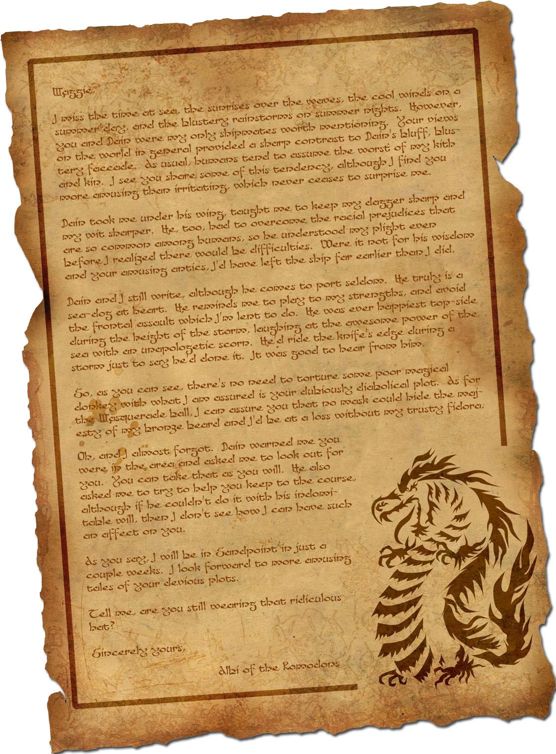Albi letter