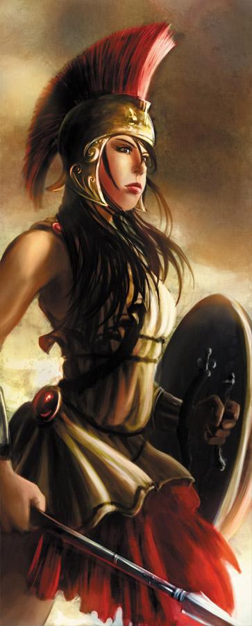 Ionian warrior