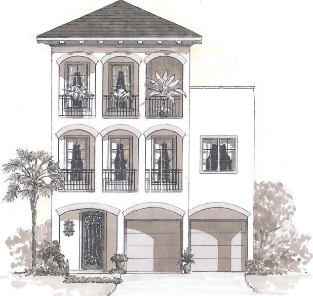Urban cottage