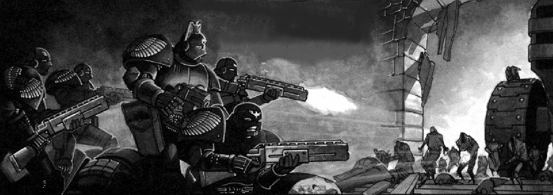 Enforcers battle
