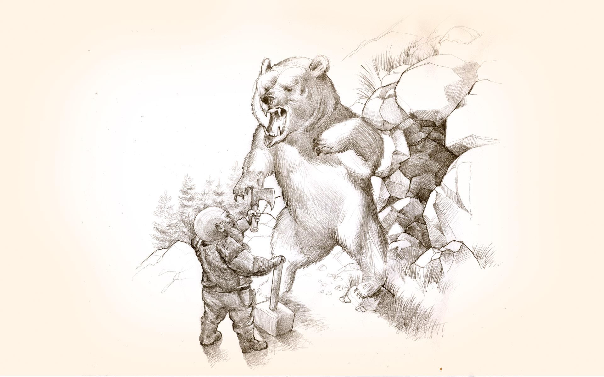 Torbort bear