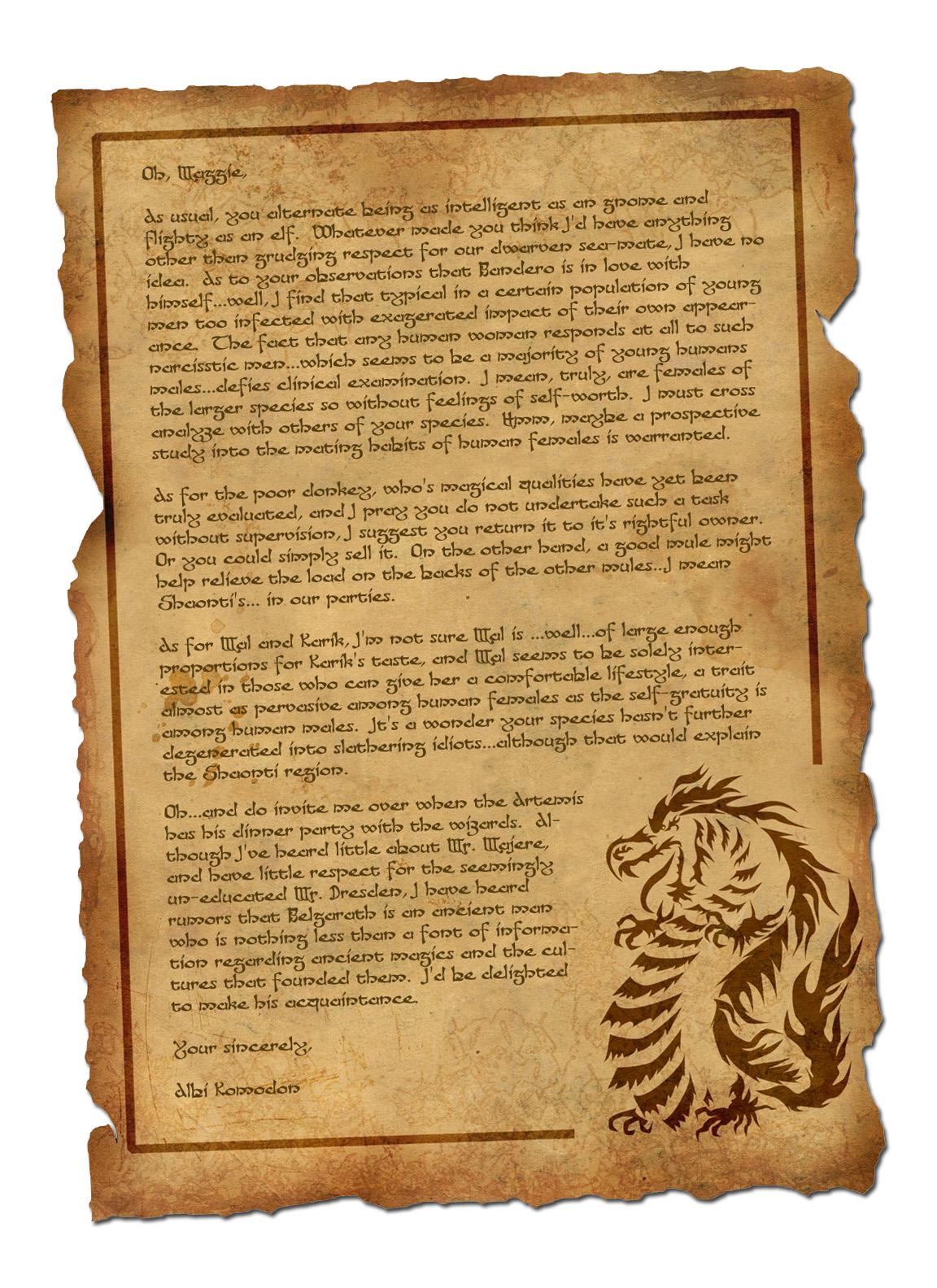 Albi letter 2