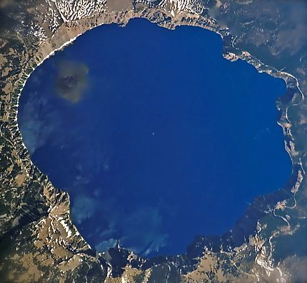 Crater lake op