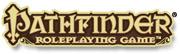 Pathfinder rpg logo left