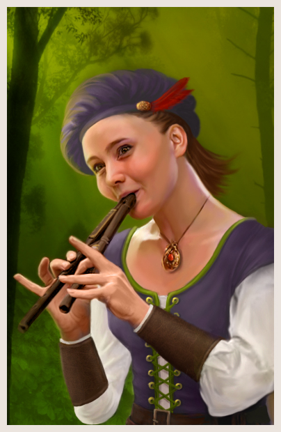 Nwn female bard by wycked