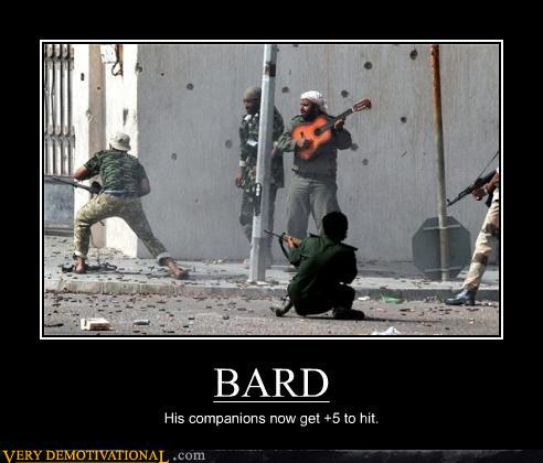 Demotivational posters bard