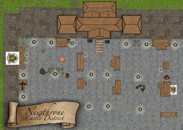 Newthrone map