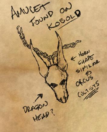 Dragon amulet