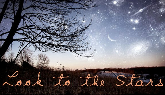 Look to the stars banner