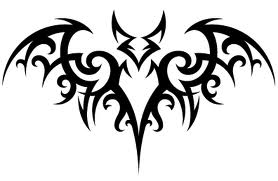 Fire bat symbol