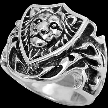 Lion blades ring