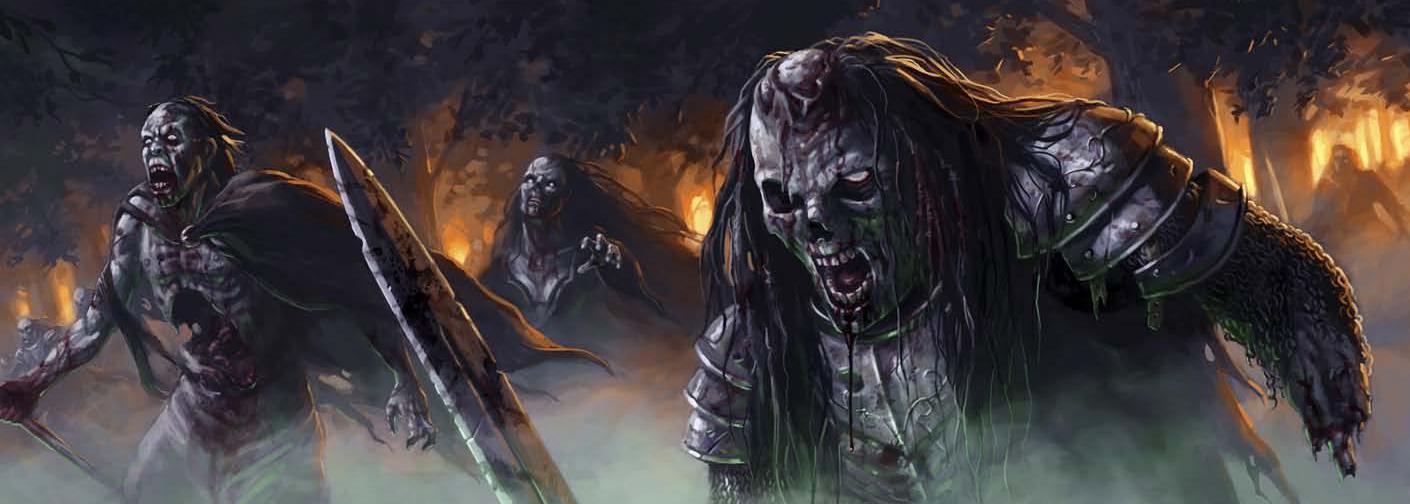 Dead by dawn zombie scene